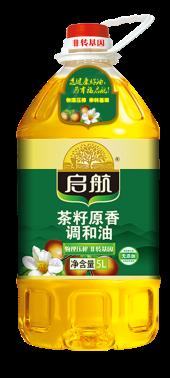启航茶籽原香调和油(含27%山茶油)