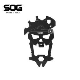 源于美国特种部队的SOG索格骷髅头多功能组合工具,男生必备