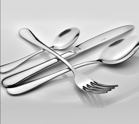 【天天特价】不锈钢西餐餐具套装 西餐刀叉两2件套 牛排扒刀叉子