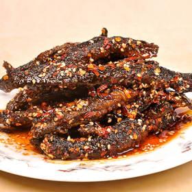 【四川寻味】麻辣味香辣泥鳅干好吃的特色小吃特辣肉食零食野味美食