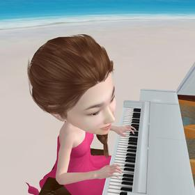 【3D人偶动画】弹钢琴(单人)