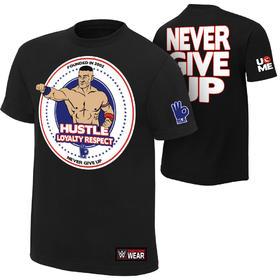 "John Cena ""Hustle Loyalty Respect"" Authentic纯棉正品短袖"
