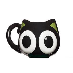 【实用款】罗小黑卡通可色陶瓷杯可爱萌异形杯创意大肚杯子