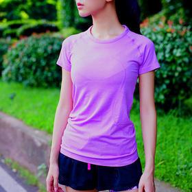 P8509 女款高端圆领短袖运动速干T恤