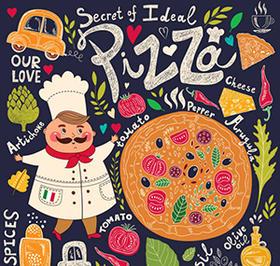 7.30 【我是小厨师】 亲子DIY披萨 ,快乐开心DIY扣子创意画!