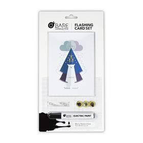 电子涂鸦导电闪光卡片趣味套装 DIY|物理兴趣培养|电路设计|开发智力