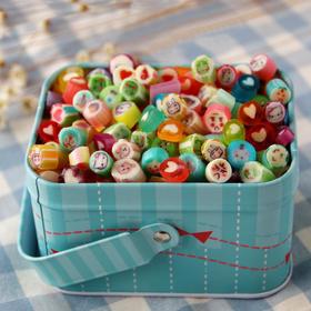 (零食)创意进口食品麦芽手工切片星空棒棒糖果水果喜糖生日礼盒零食罐子随机 | 基础商品