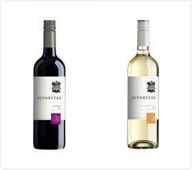 买一赠一 奥多塔西拉红1瓶+长相思白葡萄酒1瓶,智利科尔查瓜山谷 Autoritas, Sauvignon Blanc, Central Valley,