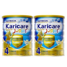 新西兰Karicare可瑞康婴儿奶粉金装4段(2周岁以上)900g/罐*2