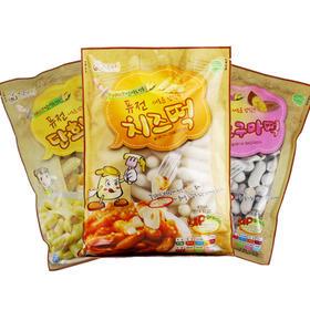 韩国得安奈年糕条三种味道超值享受1000g