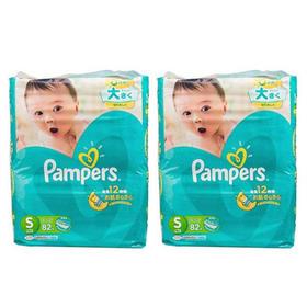 日本Pampers帮宝适纸尿裤S82片/包*2(4kg-8kg)