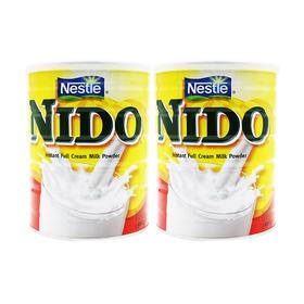 荷兰直邮 雀巢Nestle Nido速融全脂奶粉(12个月以上) 900g/罐*2
