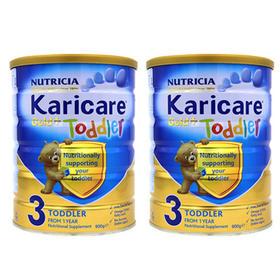 新西兰Karicare可瑞康婴儿奶粉金装3段(1-2周岁) 900g/罐*2