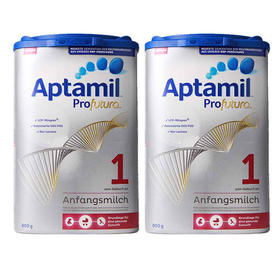 德国Aptamil爱他美婴幼儿奶粉白金版1段(0-6个月)800g/罐*2