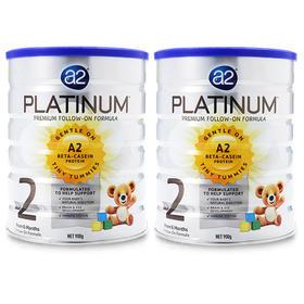 澳洲A2白金版婴儿奶粉2段(6-12个月)900g/罐*2 Platinum