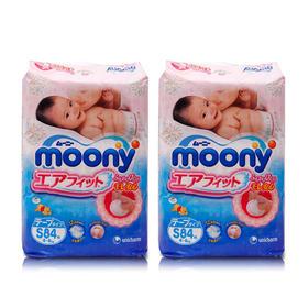 日本尤妮佳纸尿裤S84片/包*2 Moony