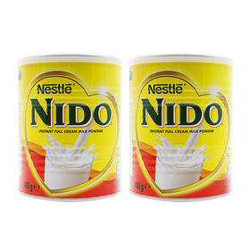 荷兰直邮 雀巢Nestle Nido速融全脂奶粉(12个月以上) 400g/罐*2