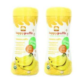 美国禧贝有机香蕉泡芙磨牙圈(9个月以上)60g/盒*2