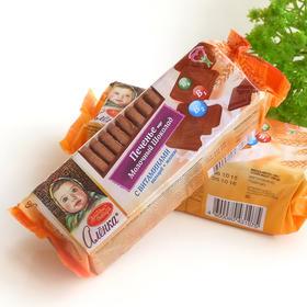 【满39元全国包邮】俄罗斯进口红色十月阿伦卡大头娃娃饼干 牛奶/巧克力味190g/袋