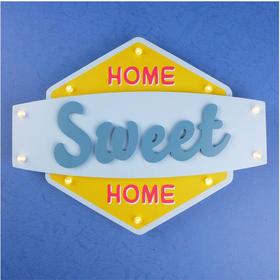 SWEET HOME带灯墙壁挂饰