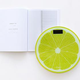 家用电子秤准确可爱水果图案  文具