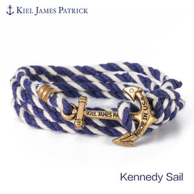KJP美国原装进口 英伦风手工船锚 可调节手环 水手系列 情侣款 Kennedy Sail