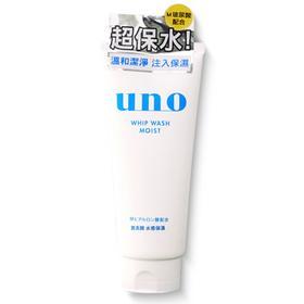 资生堂 UNO吾诺男士泡沫洗面奶/洁面乳 白色超保湿洁净