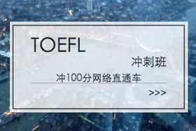 TOEFL 冲100分网络直通车