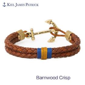 KJP美国进口 手工船锚手链 时尚潮流 舵手系列 情侣款 Bamwod Crisp