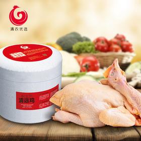 清农优选 新鲜清远鸡 国宴鸡1.6-2.1斤/只 真空包装冰鲜鸡整鸡