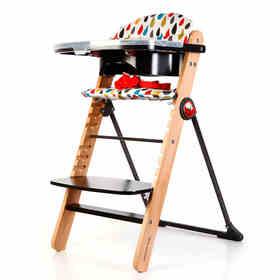 COSATTO卡萨图儿童餐椅皇室御用木材多功能婴儿吃饭餐桌椅WAFFLE
