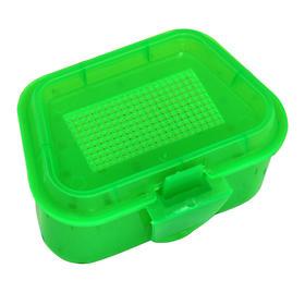 佳钓尼 蚯蚓盒 塑料蚯蚓盒 渔具盒 红虫盒 方盒渔具 垂钓用品 精品配件盒