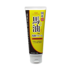 日本 loshi滋润 马油泡沫洗面奶130g