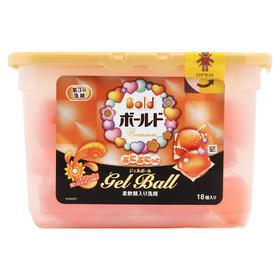 日本原装宝洁P&G新型全效消臭洗衣球啫喱凝珠球437g*18个【随机发】