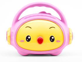 (代)小鸡叫叫故事音箱蓝牙版   硅胶包裹 定时关机 可充电下载 蓝牙款8G版
