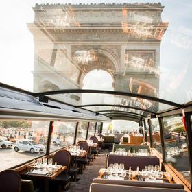 巴黎美食观景巴士