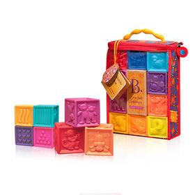 美国B.Toys 宝宝数字积木(123捏捏乐)