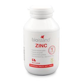 澳洲Bio Island宝宝补锌咀嚼片 120粒/瓶