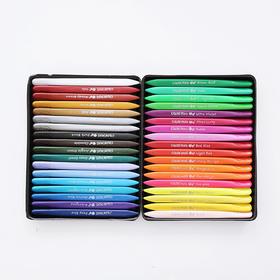 马培德12色 24色 36色蜡笔 儿童绘画涂鸦蜡笔  文具