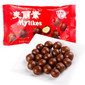【零食】梁丰麦丽素牛奶巧克力1.2kg(48小包)儿童休闲零食品糖果