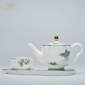 玛戈隆特·骨瓷 M20 莲蓬功夫茶具 预售
