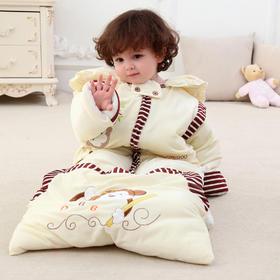 【儿童睡袋】宝宝新生婴儿睡袋秋冬季加厚抱被儿童睡袋可拆袖防踢被