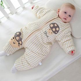 【睡袋】秋冬季加厚保暖分腿儿童纯棉防踢被婴幼儿男女宝宝睡袋