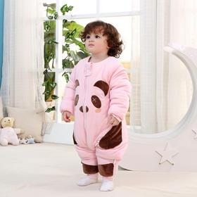 【睡袋】婴儿睡袋秋冬厚款儿童分腿式宝宝纯棉保暖新生儿防踢被