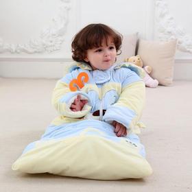【睡袋】婴幼儿童可拆袖加长包秋冬加厚新生儿童睡袋纯棉防踢被