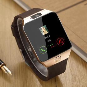【智能手机】 dz09智能手表可插卡蓝牙手表手机闹钟震动登陆qq微信