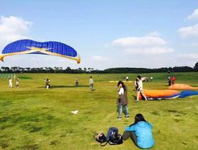 上海滑翔伞体验+皮划艇,让心飞翔