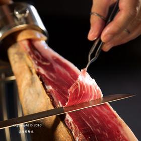 【5J火腿】西班牙进口5J品牌伊比利亚黑猪火腿后腿80g/包 ,手工切片真空包装