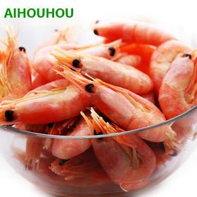 【自营商品】北极野生甜虾,产自加拿大北大西洋150米以下纯净海域,生产3-4年才可捕捞。肉质紧实,若现甜味,顶级食材。
