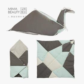 米马杂货 纯棉可折叠千纸鹤 小抱被 来龙去脉都打探究竟的安心!